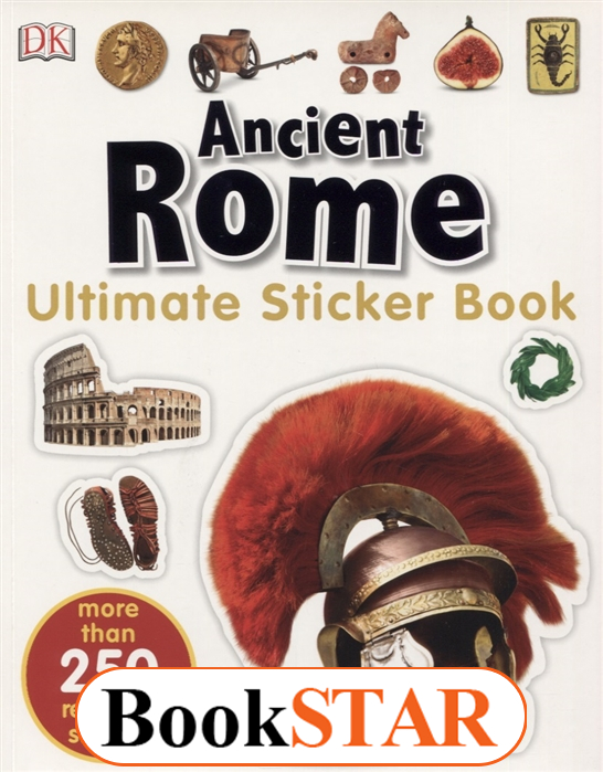 Ancient Rome. Ultimate Sticker Book