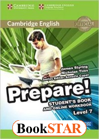 Cambridge English Prepare! Level 7. Student`s Book and Online Workbook